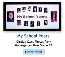 Your My School Years Frame